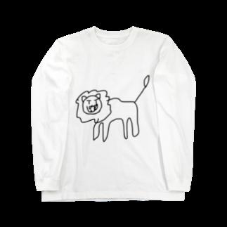黒シャツ(XUV)のとら Long sleeve T-shirts