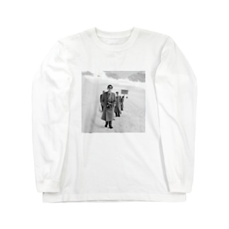 天皇陛下 Long sleeve T-shirts