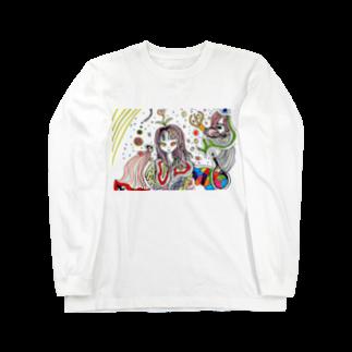 ChikashiのRelease Long sleeve T-shirts