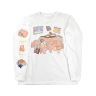 こたつ Long sleeve T-shirts