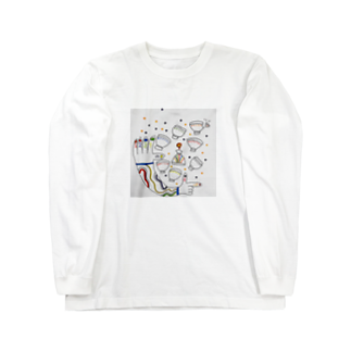 ChikashiのSeven of cup Long sleeve T-shirts