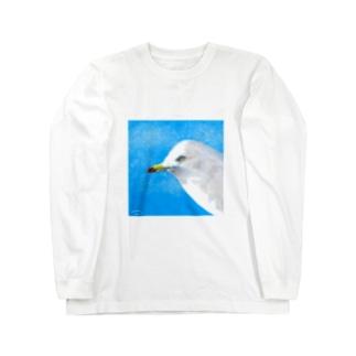 ウミネコ Long sleeve T-shirts