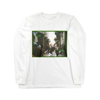 モロッコ:フェズ旧市街の迷路 Morocco: Maze of Fez (Fès) Long sleeve T-shirts