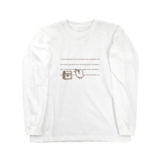 お宝はっけんトリンちゃん茶 Long sleeve T-shirts