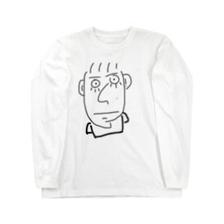 下まつげそうじろう:進学編 Long sleeve T-shirts