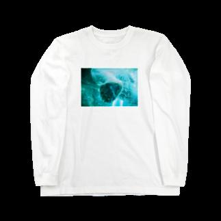 wa_d3300_のにくきゅうくん Long sleeve T-shirts