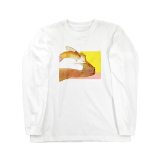 ごちゃごちゃのヤギ Long sleeve T-shirts