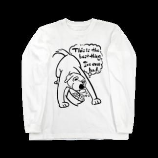 似顔絵屋コハルビヨリのゴハンが美味しいlab Long sleeve T-shirts