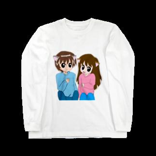Neroliの猫耳カップル Long sleeve T-shirts