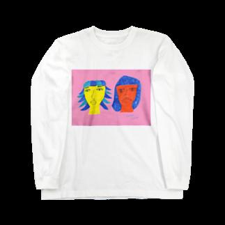 chikkaのみてよ私たちを Long sleeve T-shirts