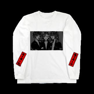 009potatoのレディースちゃん Long sleeve T-shirts