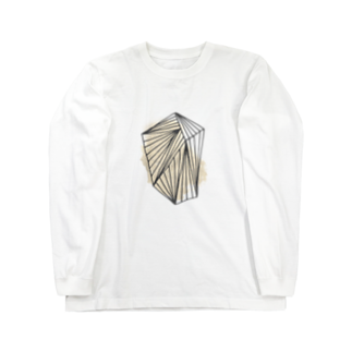 SANKAKU DESIGN STOREのぐるぐる巻きに内包。 Long sleeve T-shirts