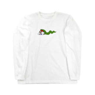 AmberToneのサラリーマンと蛇 Long sleeve T-shirts