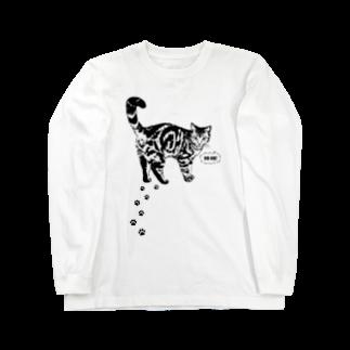 猫と釣り人のCAT_13_1W Long sleeve T-shirts