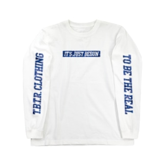 IT'S JUST BEGUN 【T.B.T.R.】 Long sleeve T-shirts