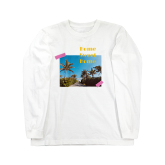 makiのHome Sweet Home Long sleeve T-shirts