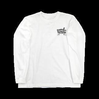 ISLAND BOARSの1st BIRTHDAY black Long sleeve T-shirts