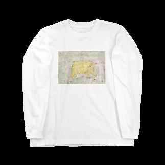 とよおかちひろのくま Long sleeve T-shirts