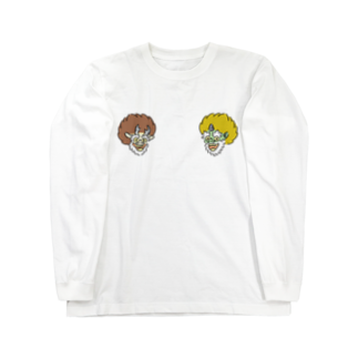 HOUSOの神様の似顔絵 Long sleeve T-shirts