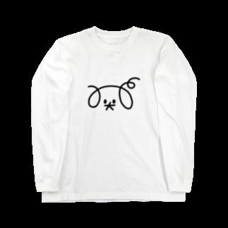 寄せ鍋のdog Long sleeve T-shirts