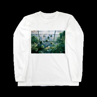 nanakosharun__の2月、植物園 Long sleeve T-shirts