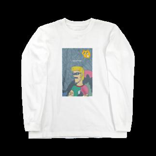 CAGLAFの買うと呪われる Long sleeve T-shirts