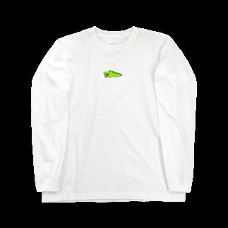 はむこストアのワニコさん(うさぎ入り) Long sleeve T-shirts