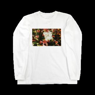 aa100099uの思い出のFlower Long sleeve T-shirts