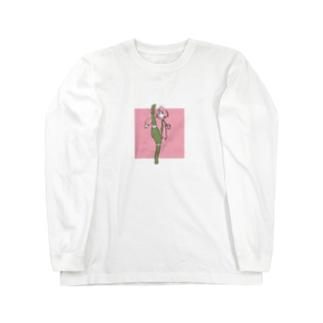 息抜きガール221-a Long sleeve T-shirts