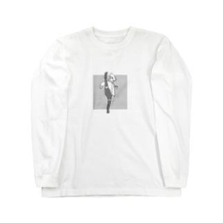 息抜きガール221-b Long sleeve T-shirts