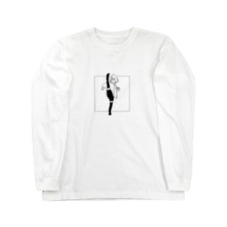 息抜きガール221-c Long sleeve T-shirts