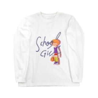 school girl Long sleeve T-shirts