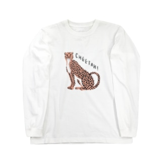 ワタナベ マリエのCheetah!!!! Long sleeve T-shirts