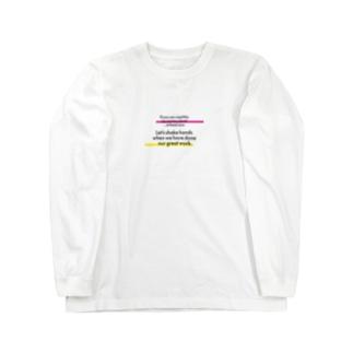 【コロナ対策】近づきすぎです。 Long sleeve T-shirts