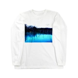 いつもここで目が醒める Long sleeve T-shirts