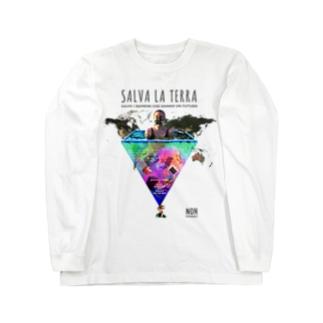 SALVA LA TERRA Long sleeve T-shirts