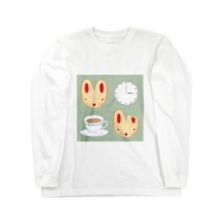 おやつの時間 Long sleeve T-shirts