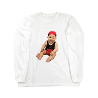 むんぎりレディバグちゃん Long sleeve T-shirts