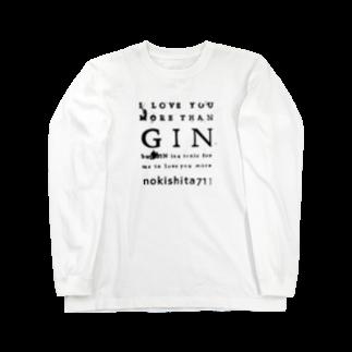 GT / Gin & T-shirtsのG&T 53 Long sleeve T-shirts