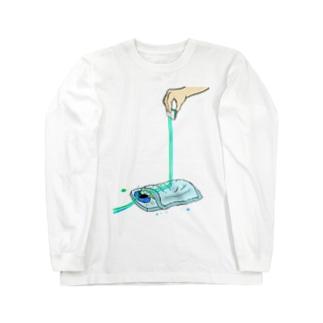 マーガリン(高) Long sleeve T-shirts