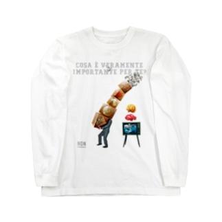 COSA È VERAMENTE IMPORTANTE PER TE? Long sleeve T-shirts