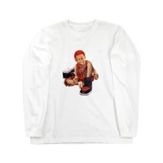 赤ハゲスニーカーズ Long sleeve T-shirts