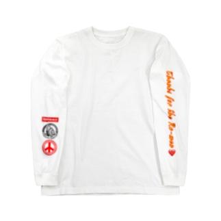 丸麺侍『平和』一品香城東店・小山餃子 Long sleeve T-shirts