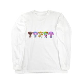 すうぃ〜つが〜るず!  Long sleeve T-shirts