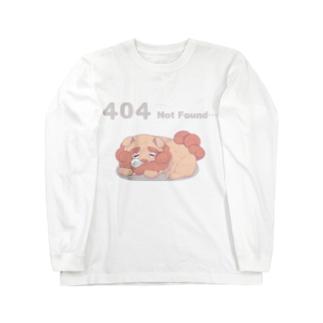 404エラー Long sleeve T-shirts