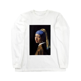 フェルメール プリントT / 'GIRL WITH A PEARL EARRING' ART PRINT T Long sleeve T-shirts
