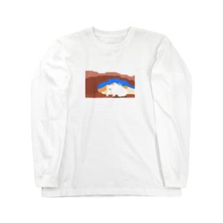 しろくま Long sleeve T-shirts