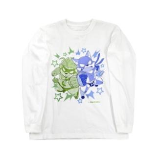 マイティリバティbyJiro Long sleeve T-shirts