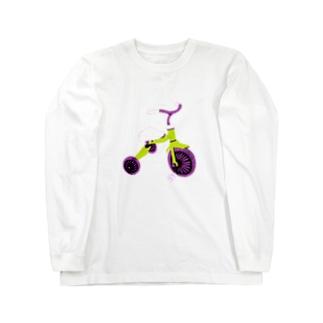 三輪車 Long sleeve T-shirts