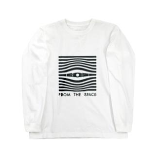 宇宙の目 Long sleeve T-shirts